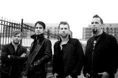 "Three Days Grace has release a new song Chalk Line"" below. Their new album 'Transit of Venus' will be release on October 2nd."