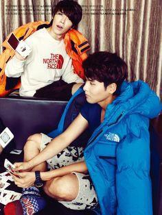 Super Junior Lee Teuk, Dong Hae, Eun Hyuk, Yesung, Ryeo Wook and Kyu Hyun - High Cut Magazine Vol.88