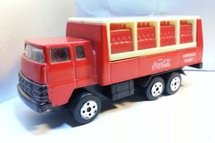 Coca-Cola 1970 Japan Style Delivery Truck Vintage Diecast Vehicle 80s-90s by MyCoffeeBoy on Etsy