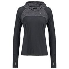 Kapuzenpullover - black/anthracite by Nike Performance