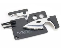 """Bad-Ass Credit Card Toolkit - Boyfriend """"Hey baby I got you a new credit card"""" Girlfirend """"OMG! You shouldn't have ohhhh I love you so much thank you thank you i knew you… WTF IS THIS SHIT?!"""" Category: Gifts for her (Removed) $14.31 via amazon."""