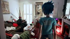 "What a fun. Gorillaz ""Do ya thing"" video clip with its own short story."