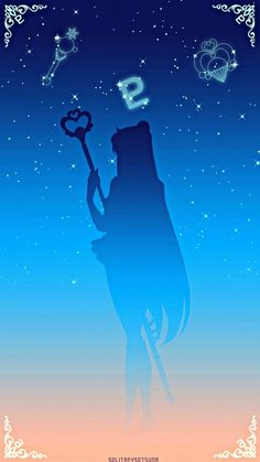 Sailor Plut Sailor Pluto, Sailor Moon Stars, Sailor Moon Fan Art, Sailor Moon Usagi, Sailor Jupiter, Sailor Moon Crystal, Moon Silhouette, Sailor Moon Wallpaper, Sailor Moon Cosplay