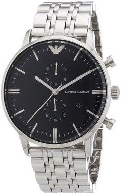 Sale Preis: Emporio Armani Herren-Armbanduhr XL Chronograph Quarz Edelstahl AR0389. Gutscheine & Coole Geschenke für Frauen, Männer & Freunde. Kaufen auf http://coolegeschenkideen.de/emporio-armani-herren-armbanduhr-xl-chronograph-quarz-edelstahl-ar0389  #Geschenke #Weihnachtsgeschenke #Geschenkideen #Geburtstagsgeschenk #Amazon