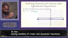 Solving Systems of Quadratic and Linear Equations | Skubes