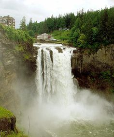 Snoqualmie Falls - Near Seattle, Washington