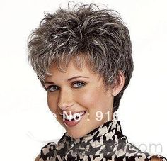 Super Short Gray Hair | Spedizione gratuita 35cm breve dramatical omicidio dmmd- Chiara grigio ...