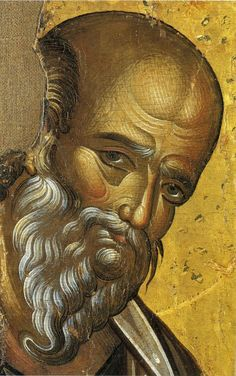 St John of Patmos Religious Images, Religious Icons, Religious Art, Byzantine Art, Byzantine Icons, Greek Icons, Face Icon, Religious Paintings, Russian Icons