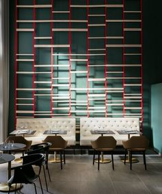 View the full picture gallery of Okko Hotel Strasbourg Restaurant Lounge, Bar Lounge, Restaurant Design, Hotel Interiors, Office Interiors, Interior Work, Interior Design, Patrick Norguet, Design Café