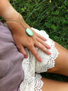DIY Hand Flower and Slave Bracelet Jewelry Tutorials | Brandywine Jewelry Supply Blog