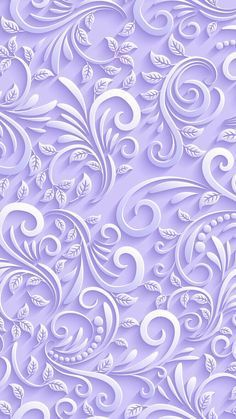 Lilac coloured textured swirls with leaves. See related pins for similar ones. Flower Background Wallpaper, Flower Phone Wallpaper, Purple Wallpaper, Butterfly Wallpaper, Trendy Wallpaper, Cellphone Wallpaper, Flower Backgrounds, Pretty Wallpapers, Screen Wallpaper