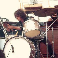 Michael Shrieve at Woodstock