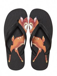 037caa8fd892 Givenchy - Black Bambi Rubber Flip Flop for Men - Lyst