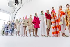 Scenes from the spring/summer 2017 collections which were presented in New York…