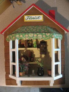 Miniature  Florist Store Front by flwfaery,  10.00