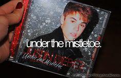 I wanna kiss him under mistletoe