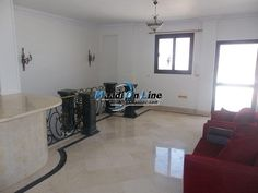 penthouse for rent or sale in Maadi Degla 360m 9th 4 bedroom Garage. Real Estate Egypt, Cairo, Maadi, Degla, Super Lux Apartments for Sale or Rent, Divided into 4 BedroomsNo,3 Bathrooms  Flooring :Tiles Ceramics Marble Granite (Air Conditioning,Balcony + View,Elevator,Garage,Master Bedroom,Refrigerator,Roof,Special Garage,Stove,Telephone,Terrace,TV Cable Or Satellite,Two Entrance,Washer)http://www.maadionline.com