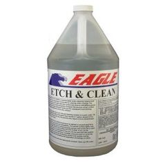 Eagle 1 Gal  Cleaner Degreaser and Neutralizer for Concrete in 4 1     Etch and Clean for Concrete in 4 1 Concentrated EEC1 at The Home Depot