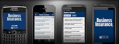 Insurance apps for mobile devices