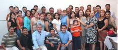 Grupo de estudiantes del Seminario Internacional Ministerial en el centro de estudios en cd. Juárez Chihuahua México.