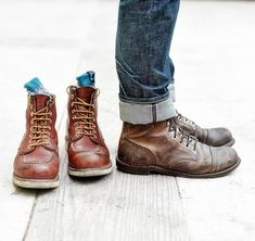 Red Wing Boots, Brown Boots, Mens Boots Fashion, Men's Fashion, Men's Shoes, Shoe Boots, Wing Shoes, Abercrombie Men, Mens Attire