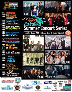 2012 Concert Series Poster image  7/28