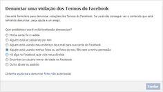 Como denunciar ofensas e pornografia no Facebook ~ Emerson Wendt
