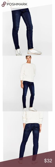 Brand new with tag Zara slim fit denim Zara Man Denim BASICS collection. 98% cotton. Zara Jeans