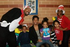 Students at Gaenslen K-8 School wished Dr. Seuss a very happy birthday Thursday. The Cat in the Hat even stopped by the classrooms. Principal Hines and some lucky children had the chance to sit and chat with him!