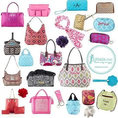 When I was asked to review an item from Initials Inc, KellyDobson, I was very excited. I LOVE bags of all sorts.