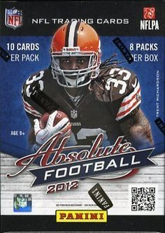 2012 Panini Absolute Football Factory Sealed Retail Box !! BRAND NEW ! HOT ! Look for Rookie Cards and Rare Autographed Rookie Cards of all the Top 2012 NFL Draft Picks Including Andrew Luck, Robert Griffen III,Ryan Tannehill,Trent Richardson and Many More!! by Panini. $22.99. Wowzzer! We are Proud to offer this Original 2012 Panini Absolute Football  Factory Sealed Retail Box. This Factory Sealed Box includes 8 Packs and 10 Cards per Pack. Look for Rookie Cards and Ra...