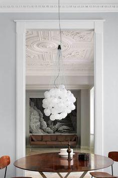 Stochastic Suspension Chandelier #lighting