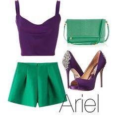 Ariel by gemmau on Polyvore featuring polyvore fashion style Cushnie Et Ochs Badgley Mischka GiGi New York