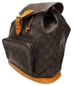 728e76298f70 The Louis Vuitton Montsouris Mongram Brown Leather and Canvas Backpack is a  top 10 member favorite on Tradesy.