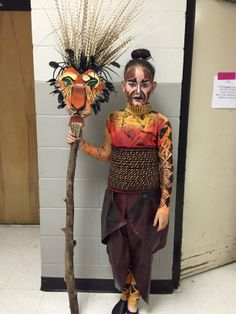 The Lion King Jr Scar Costume Disney Theater