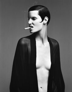 Daniele Duella - Photographers - Editorial - Vogue Germany Hair (in Collaboration With Iango) | Michele Filomeno