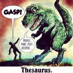 Funny pictures about I Believe The Full Latin Name Thesaurus Lex. Oh, and cool pics about I Believe The Full Latin Name Thesaurus Lex. Also, I Believe The Full Latin Name Thesaurus Lex photos. T Rex Humor, Nerd Humor, Biology Humor, Nerd Jokes, Geek Humour, Messages Matinaux, Doug Funnie, Grammar Jokes, Chemistry Jokes