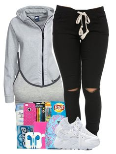 """""""Untitled #938"""" by trinsowavy ❤ liked on Polyvore featuring NIKE"""