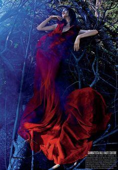 Manon Leloup by Kacper Kasprzyk for V Magazine