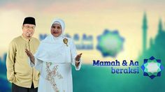 Mamah & Aa BerAKSI (Indosiar) #Television #Indonesia #Indosiar #Comedy Television Program, Doa, Baseball Cards, Sports, Hs Sports, Sport