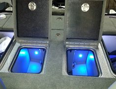 Quad Beam Livewell / Cooler LED Light Pair - Submersible | Boat LED Live Well Lighting Kits | Boating LED Applications | Blue Water LED Products