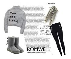 """""""ROMWE contest"""" by natacharizk on Polyvore featuring UGG Australia"""