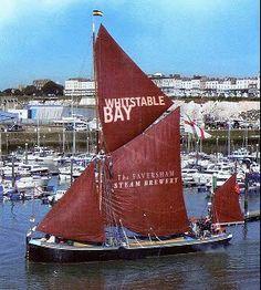 Thames Sailing Barge Greta