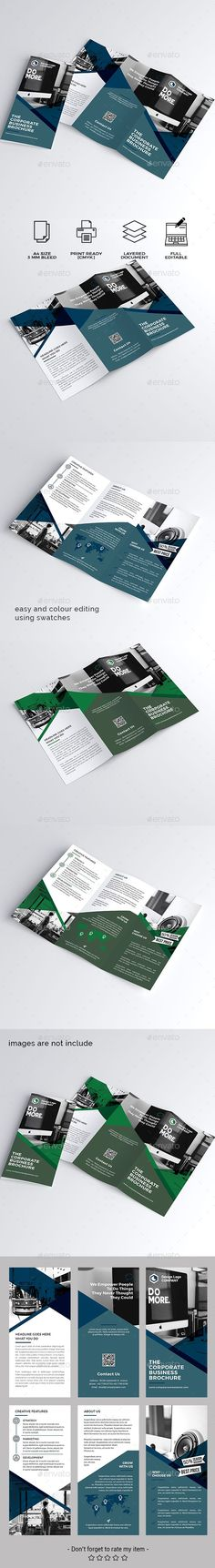 #Trifold #Brochure - Corporate Brochures