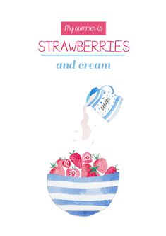 strawberries and cream-Felicity French