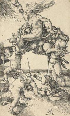 Ведьма - Альбрехт Дюрер 1471–1528 Германия