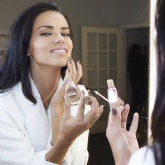 Adriana Lima looking flawless in Dream Wonder Foundation. #bornwithit #maybeitsmaybelline