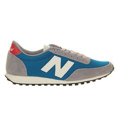 New Balance 410 Blue Grey White - Unisex Sports: Office: £59