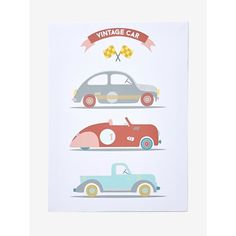 Are you a car fan? The boys will love this wooden wall hanging with cute vintage cars! SIZE: 38 x 28 cm o Attachment on the back to hang on th Retro Cars, Vintage Cars, Childrens Artwork, Baby Wall Art, Tapestry Weaving, Boy Art, Custom Cards, Baby Room Decor, Fabric Painting