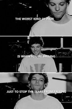 Louis Tomlinson - Our BooBear❤ stay strong, Lou. One Direction Quotes, One Direction Pictures, I Love One Direction, Liam Payne, Harry Styles, Nicole Scherzinger, Louis Tomlinson Quotes, 1d Quotes, Teen Quotes